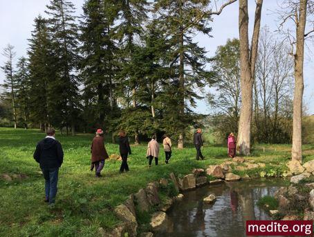 Planning d'une journée type à Vajradhara-Ling en Normandie