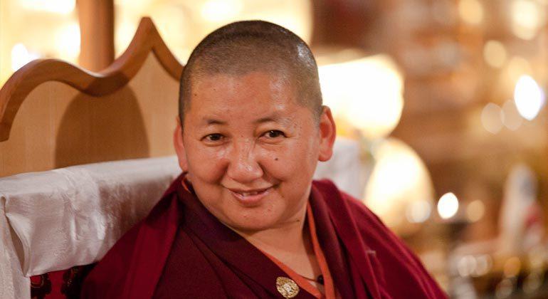 Son Éminence Jétsun Khandro Rinpotché à Nyima Dzong – 2019