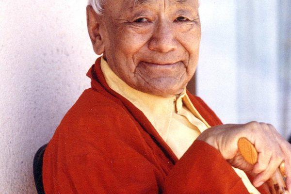 Lama Guendune Rinpotché – La méditation du point de vue du mahamoudra